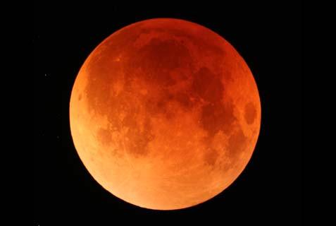 Japan Lunar Eclipse
