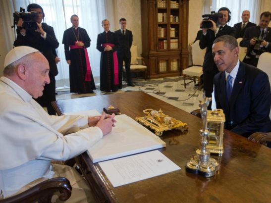 Two of the many world leaders who greet heresy Chrislam welcome.